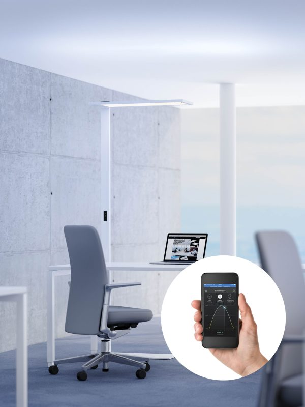 Smart connected lighting in offices