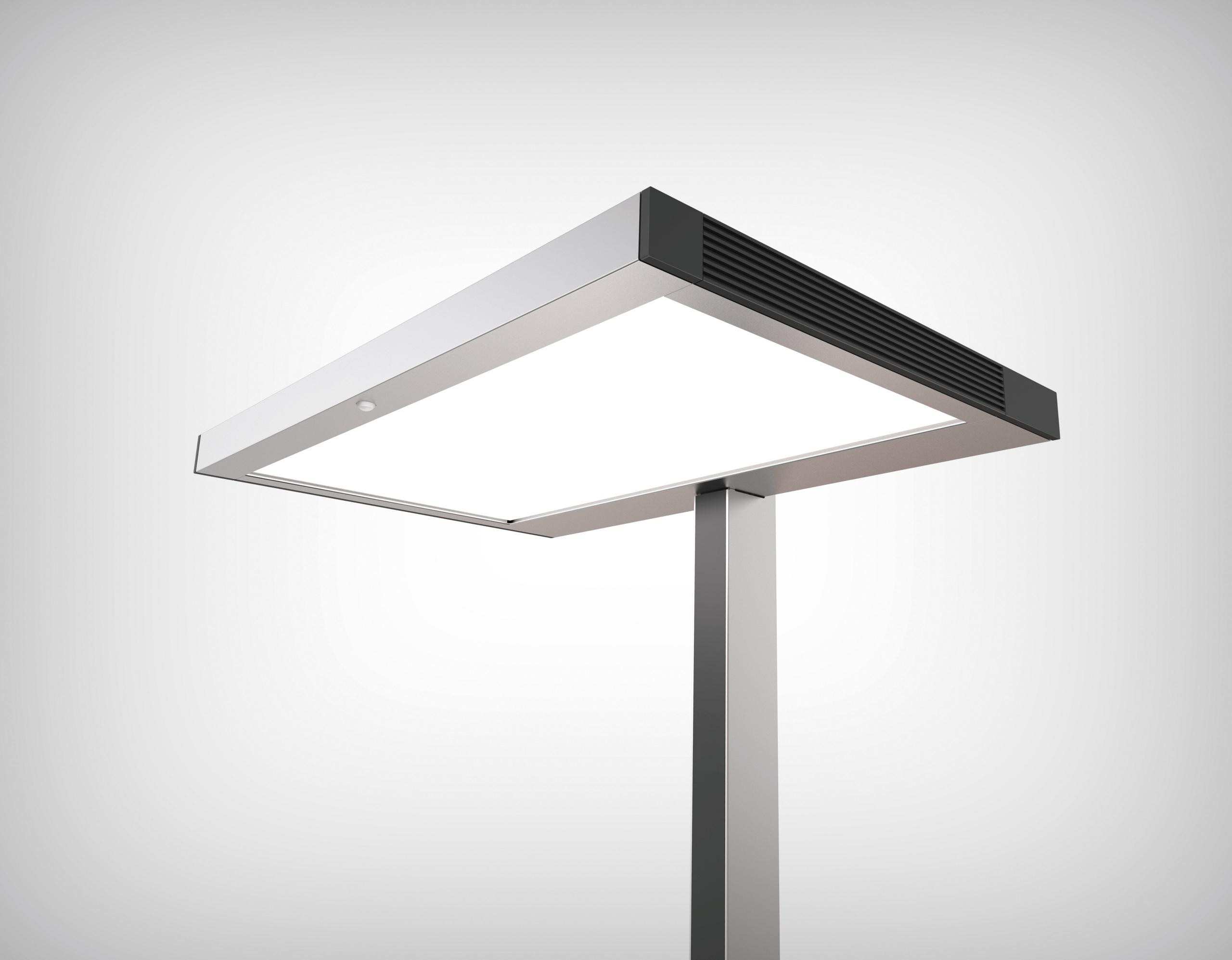 Vitawork le nouveau lampadaire de Luctra 1ère présentation dans le cadre de Light+Building 2018.
