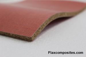 INNOLIN le mariage du Lin et du liège, ce matériau bio composite, préserve la qualité de l'air.
