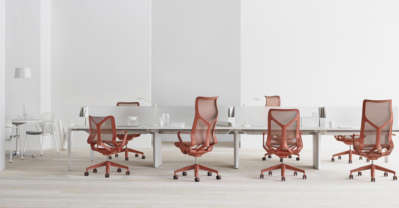 L'ergonomie intuitive  appliquée au nouveau siège  Cosm Herman Miller