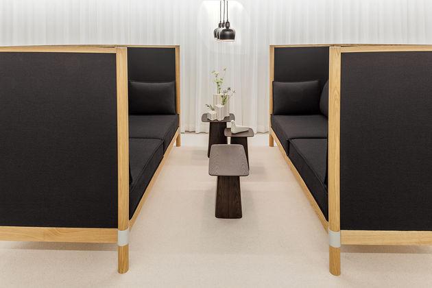 reunion informelle avec CYL sofa de VITRA