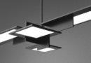 AQForm OLEDRIAN suspended or wall lamp.