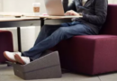 « Petit mais costaud » le repose-pieds  de la collection Campfire  créé par Turnstone, Groupe Steelcase
