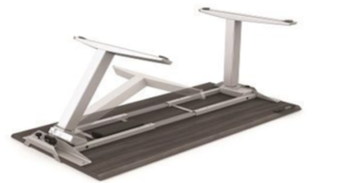 The Levado™ desk, a brand new height-adjustable desk solution